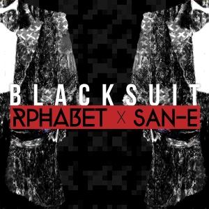 """Album art for Rphabet's album """"Black Suit"""""""
