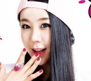 "Smile.G's Insun ""DoBiDoBop"" promotional picture."