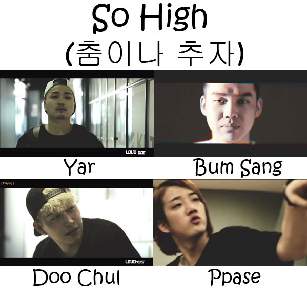 "The members of Nolza in the ""So High"""