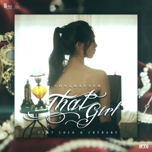 "Album art for Song Rapper's album ""That Girl"""