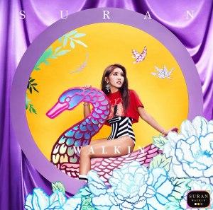 "Album art for Suran's album ""Walkin'"""