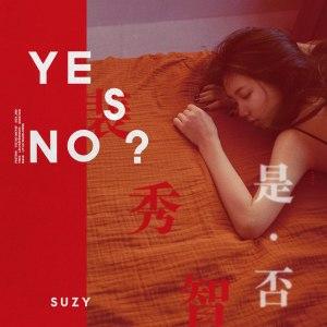 "Album art for Suzy's album ""Yes? No?"""