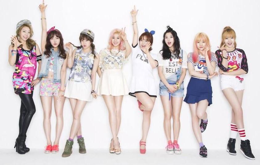 Женские к поп группы из 7 человек