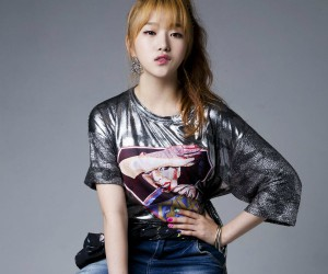 "YE-A's Yeorin ""Up & Down"" promotional picture."
