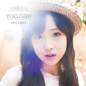 "Album art for Yoo Jiae's album ""Delight"""