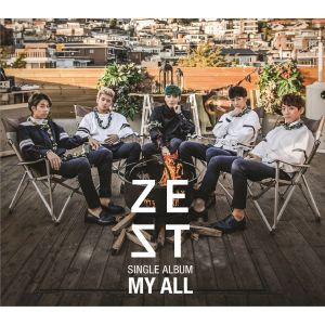 "Album art for ZEST's album ""My All"""