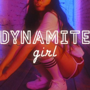 "Album art for Zizo's album ""Dynamite Girl"""