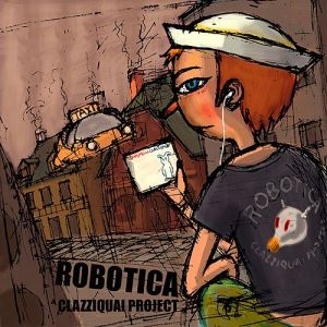 "Album art for Clazziquai Projects album ""Robotica"""
