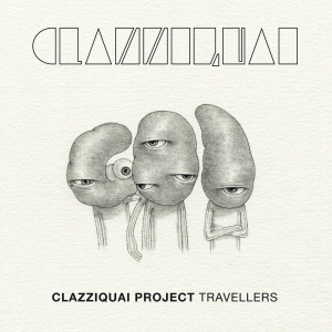 "Album art for Clazziquai Project's album ""Travellers"""