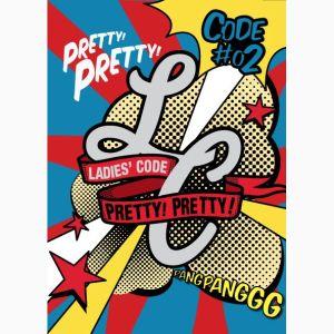 "Album art for Ladies' Code's album ""Pretty Pretty"""