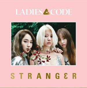 """Album art for Ladies Code's album """"STRANG3R"""""""