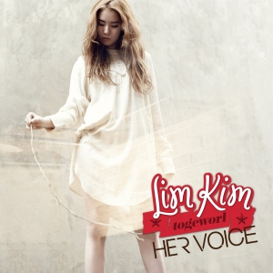 """Album art for Lim Kim/Kim Yerim's album """"Her Voice"""""""