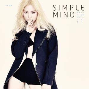 """Album art for Lim Kim (Kim YeRim)'s album """"Simple Mind"""""""