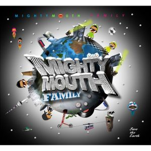 "Album art for Mighty Mouth's album ""Family"""