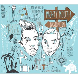 "Album art for Mighty Mouth's album ""Navigation"""