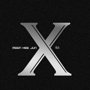 "Album art for Moon Hee Jun's album ""Triple X"""
