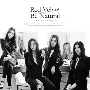 "Album art for Red Velvet's album ""Be Natural"""