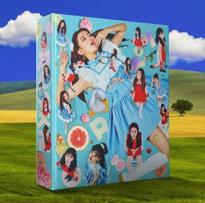"Album art for Red Velvet's album ""Rookie"""