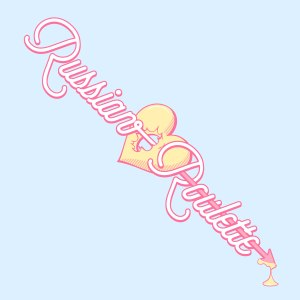 "Album art for Red Velvet's album ""Russian Roulette"""
