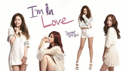 "Secret's ""I'm in Love"" promotional picture."