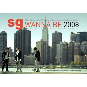 "Album art for SG Wannabe's album ""Story In New York"""
