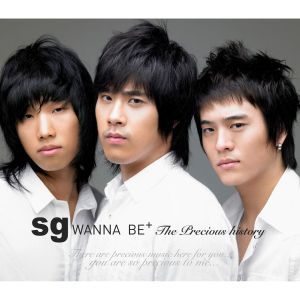 "Album art for SG Wannabe's album ""The Precious History"""