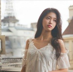 "Album art for Sojung's album ""Better Than Me"""