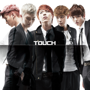 "Album art for Touch's album ""Rearrange"""