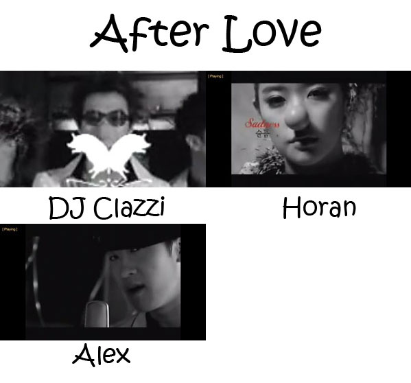 "The members of Clazziquai Project in the ""After Love"" MV"