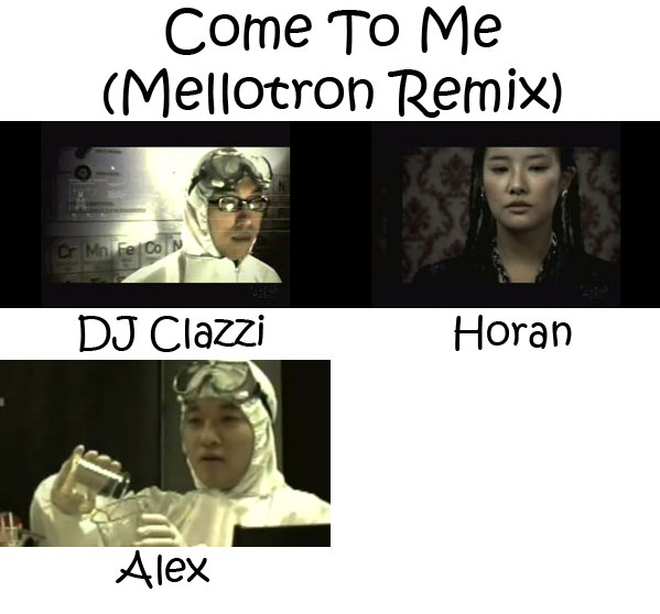 "The members of Clazziquai Project in the ""Come To Me (Mellotron Remix)"" MV"