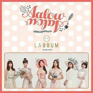 "Album art for LABOUM's album ""Aalow Aalow"""