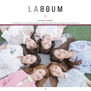 """Album art for LABOUM's album """"Fresh Adventure"""""""