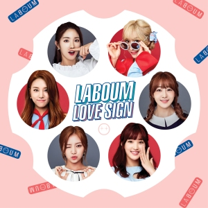 """Album art for LABOUM's album """"Love Sign"""""""