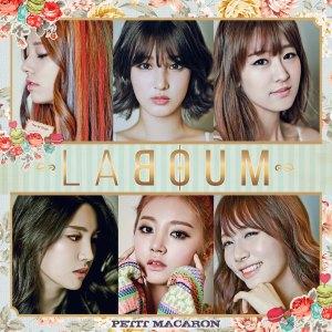 """Album art for Laboum's album """"PETIT MACAROON"""""""