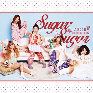 """Album art for Laboum's album """"Sugar Sugar"""""""