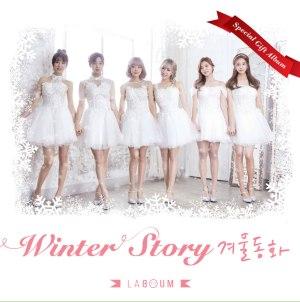 """Album art for Laboum's album """"Winter Story"""""""