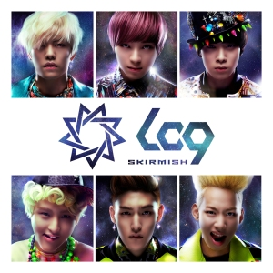 "Album art for LC9's album ""Skirmish"""