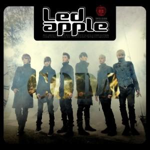 "Album art for LED Apple's album ""CODA"""