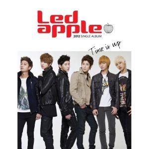 "Album art for LED Apple's album ""Time Is Up"""