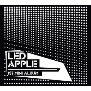 "Album art for LED Apple's album ""What Are You"""