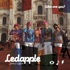 "Album art for LED Apple's album ""Who Are You?"""