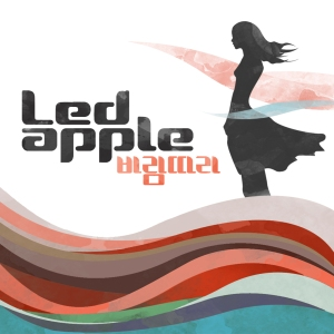 "Album art for LED Apple's album ""With The Wind"""