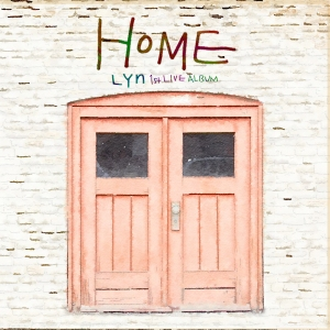"Album art for LYn's album ""Home"""