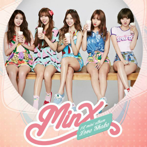 "Album art for MINX's album ""Love Shake"""