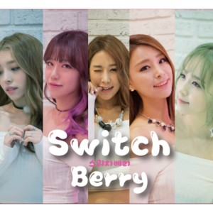 "Album art for Switch Berry's album ""Shaking"""