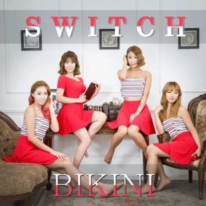 "Album art for Switch's album ""Bikini"""