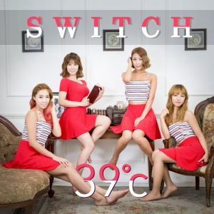 "Album art for Switch's album ""39°C"""