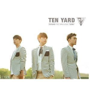 "album art for Ten Yar's album ""Shine"""