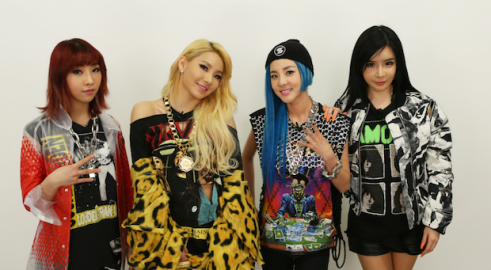 2NE1 Group Photo