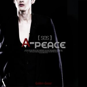 "Album art for APeace's album ""SOS"""